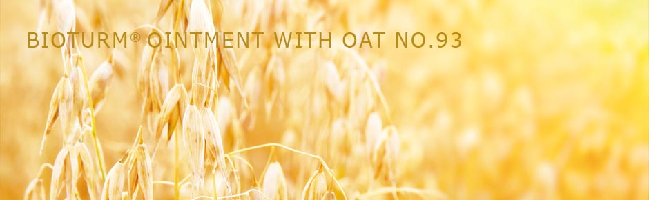 Bioturm Natural cosmetics Ointment with oat No.93