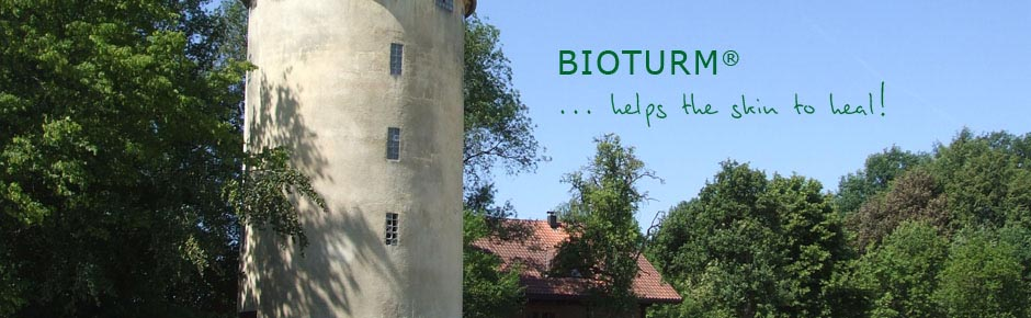 Natural cosmetics Bioturm - helps the skin to heal