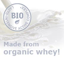 Lacto-intensive active complex made of organic whey