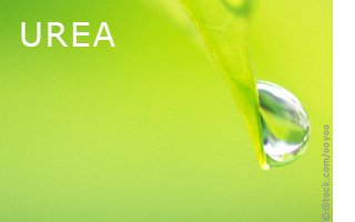 Natural cosmetics with urea
