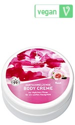 Naturkosmetik Body cream rose No.62