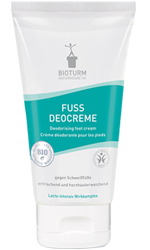 Naturkosmetik Deodorising foot cream No.80