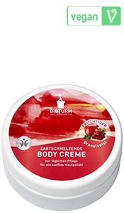 Naturkosmetik Body cream pomegranate No.61
