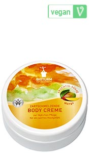 Naturkosmetik Body cream mango No.65