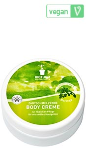 Naturkosmetik Body cream moringa No.63