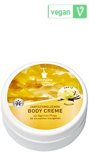 Naturkosmetik Body cream vanilla No.60