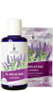 Naturkosmetik Oil-whey bath lavender No.118