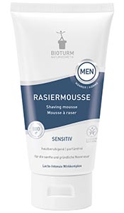 Naturkosmetik Shaving mousse MEN No.126